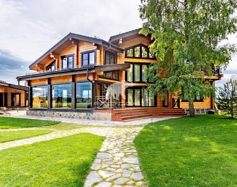 Как фотографировать деревянные дома
