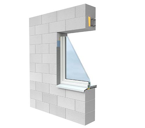 Окна в каменном доме - фото конструкции