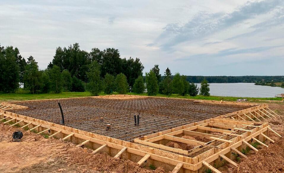 Завершили все предварительные работы перед заливкой бетона