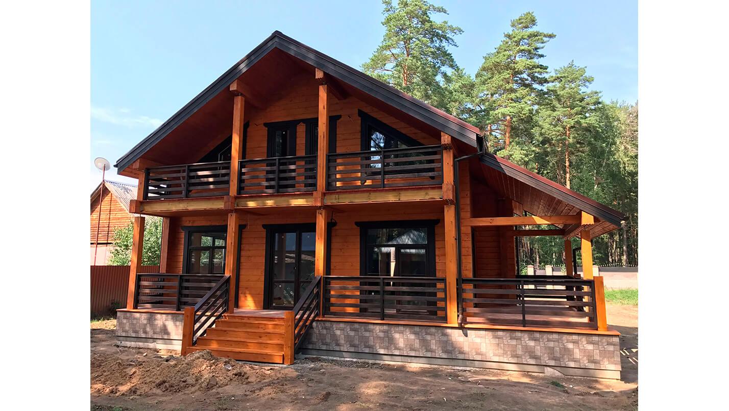 Строительство дома от АПС ДСК